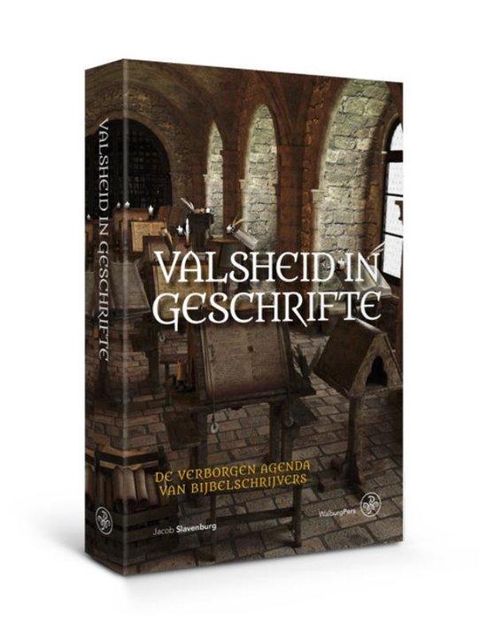 Boek cover Valsheid in Geschrifte van Jacob Slavenburg (Paperback)