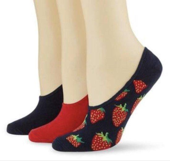 Happy Socks Multipack Strawberry 36-40
