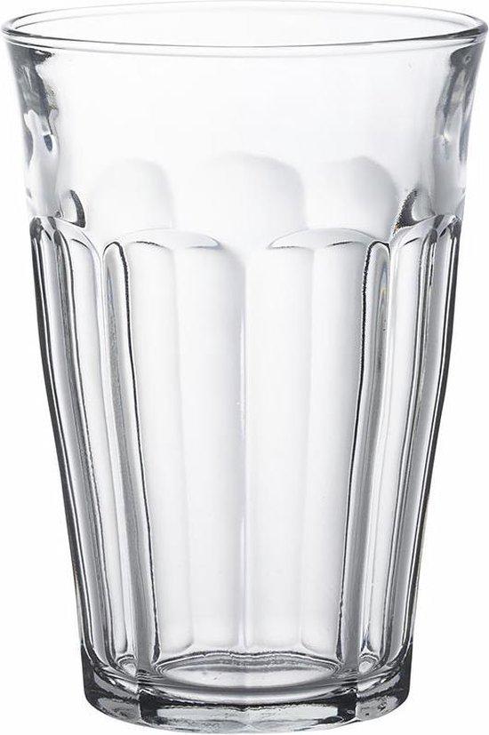 Duralex Picardie Longdrinkglas 36 cl - Gehard glas - 6 stuks