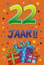Leeftijdkaart 22 funny age