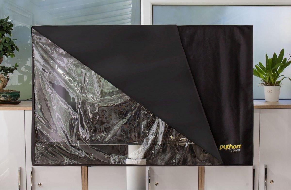 Python beschermhoes met transparante doorkijk voor schermen van 58 tot 60 inch kopen