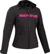 Bering Drift Lady Black Fuchsia Motorcycle Jacket T0