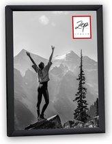 ZEP - Kunststof fotolijst 20x30 zwart New Easy - KB4