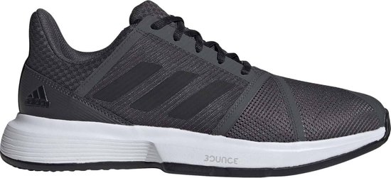 adidas CourtJam Bounce M clay Heren Sportschoenen - Grey Six - Maat 46