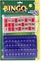 Afbeelding van het spelletje Toi-toys Bingo Reisspel Rood/blauw 30 Cm