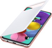 Samsung S View Wallet Cover - Samsung A51 - Wit