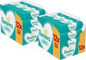 Pampers Sensitive Babydoekjes 24 Verpakkingen = 1248 Doekjes