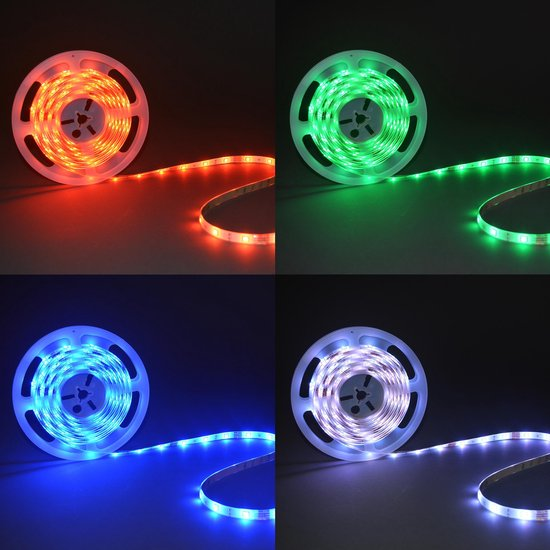 B.K.Licht LED strip - 5 meter - incl. afstandsbediening - met kleurverandering - B.K.Licht