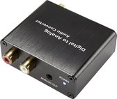 Audio Converter [Toslink Digitale Cinch - Cinch Jackplug] Unidirectioneel (Uni) Speaka Professional Sp-Dac-Tk/Ck