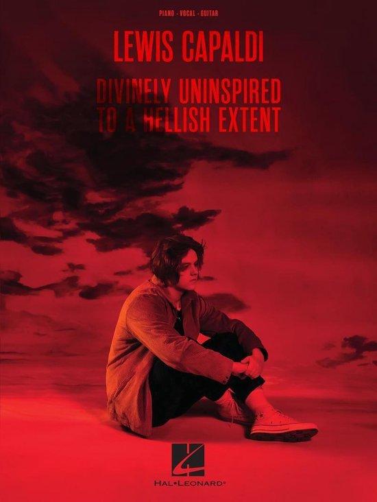 Boek cover Lewis Capaldi - Divinely Uninspired to a Hellish Extent Songbook van Lewis Capaldi (Onbekend)