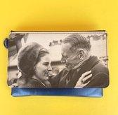 Wana Bana Vintage Heuptas Blauw - Vegan - Daughter & Father