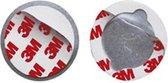 Smartwares RMAG3 - 3 stuks - Magnetische Montageset - 50 mm - Geschikt voor elke rookmelder en koolmonoxidemelder