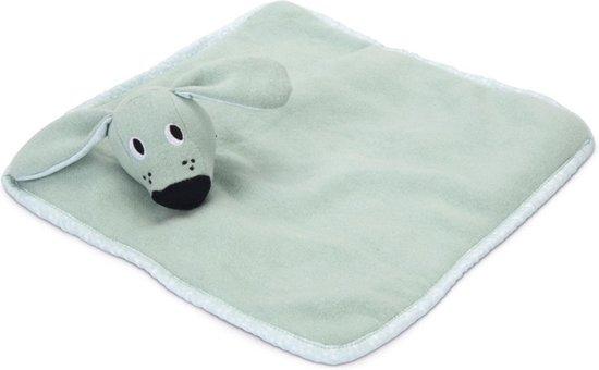 Beeztees Puppy Wuggie Knuffellapje - Hondenspeelgoed - Groen - 31 x 31 x 6,5 cm