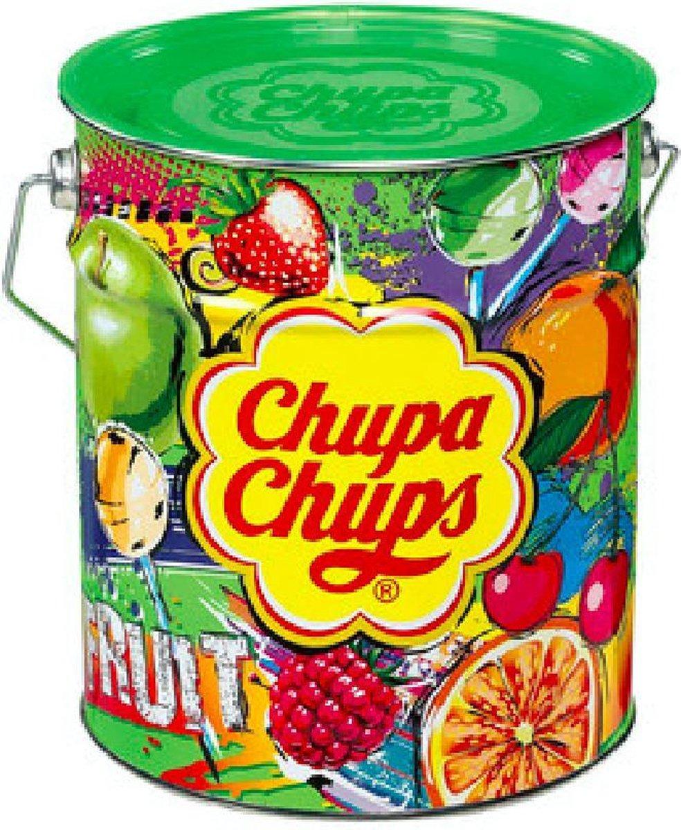 Chupa Chups Fruit tin lolly's - 150 stuks