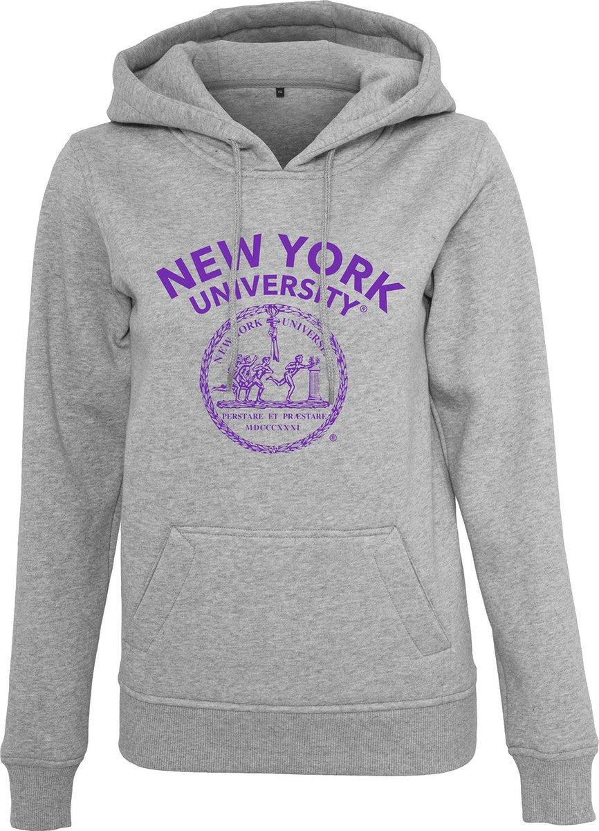 Merchcode New York University - NYU logo Dames Hoodie L
