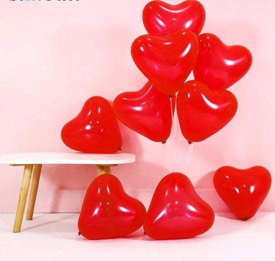 Valentijn - Valentijnsdag - Hartjes ballonnen - 10 stuks