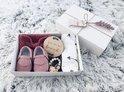 Baby geschenkset Meisje - Kraampakket - Baby Cadeau - Geboorte Cadeau - Babyshower geschenkset