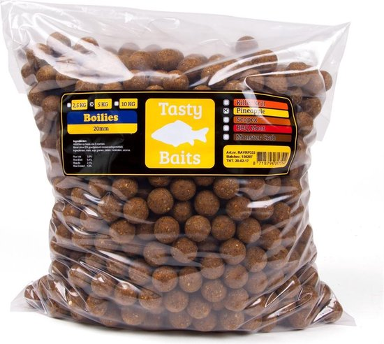 Tasty Baits PINEAPPLE - BOILIE - 20MM - 5KG