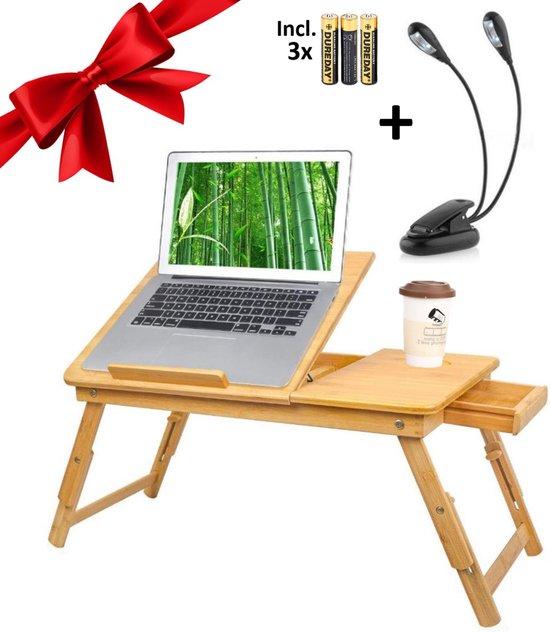 Wonderlijk bol.com | Luxergoods bedtafel - Laptoptafel - Inclusief CL-74