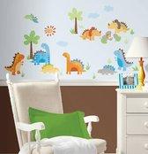 RoomMates Muursticker Dinosaurussen - Multi