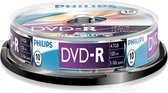 Philips DM4S6B10F - DVD-R - 4,7GB - Speed 16x - Spindle - 10 stuks