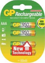 GP ReCyko+ AAA Oplaadbare Batterijen 950 mAh - 4 stuks