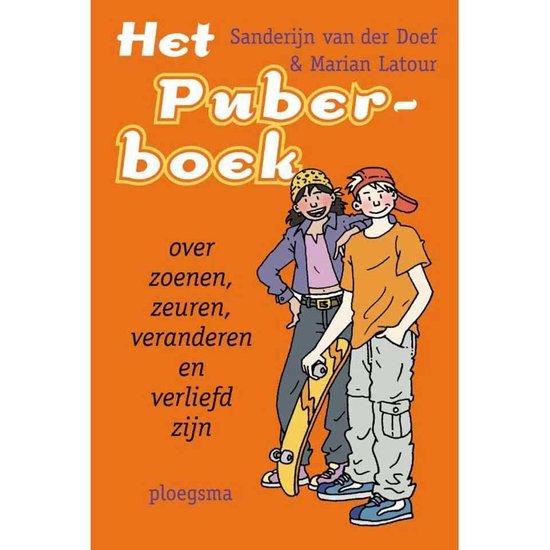 Boek cover Het puberboek van Sanderijn van der Doef (Hardcover)