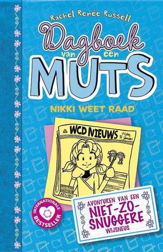 Boekomslag voor Dagboek van een muts 5 - Nikki weet raad