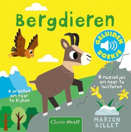 Boek cover Bergdieren ( Geluidenboekje) van Marion Billet (Onbekend)
