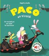 Boek cover Paco en Vivaldi ( geluidenboek) van Magali Huche (Onbekend)
