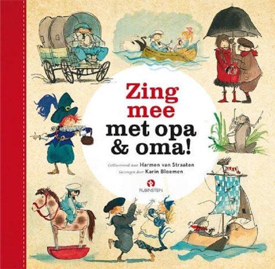 Welp bol.com | Zing mee met opa & oma, Karin Bloemen | CD (album) | Muziek ZQ-38