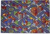Big City Stratentapijt - 140X200 cm