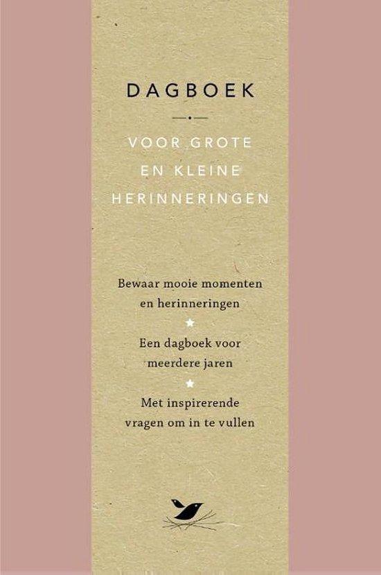 Dagboek voor grote en kleine herinneringen - Elma van Vliet |
