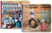 Boek cover Het Muizenhuis - Boodschappen doen Kom je spelen van Karina Schaapman (Hardcover)