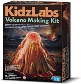 4M Kidzlabs Giet en verf een vulkaan