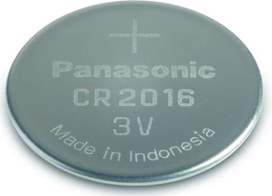 Panasonic CR-2016EL/4B huishoudelijke batterij Wegwerpbatterij CR2016 Lithium