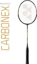 YONEX CARBONEX-6000N + BG-LL ZONDER COVER - Zwart