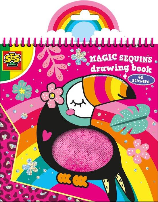 Magic pailletten kleurboek