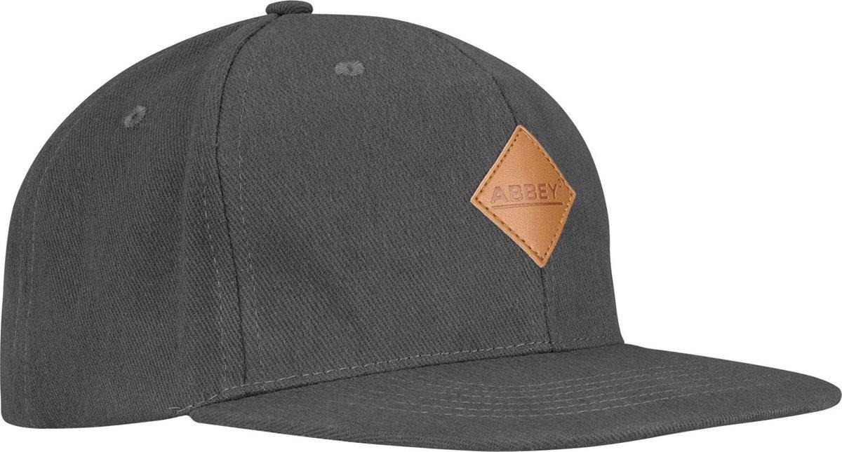 Abbey Baseballcap Senior - Snapback - Grijs