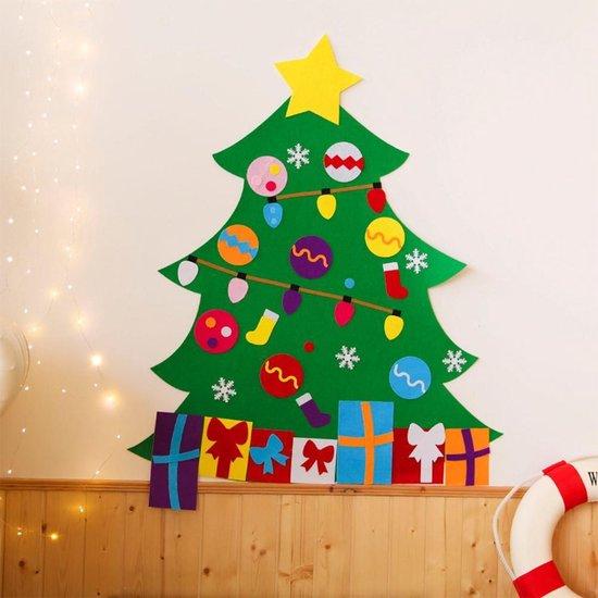 Bol Com Kinder Kerstboom Kerstversiering Kerstcadeau Knutselen Zelf Maken Vilt