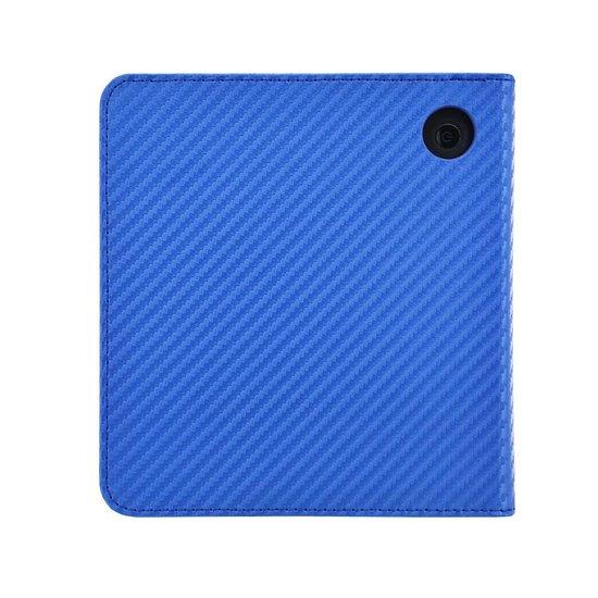 Kobo Libra H2O Sleepcover Carbon Hoes Blauw