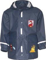 Playshoes Regenjas Kinderen Brandweer - Donkerblauw - maat 116