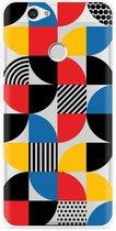 Huawei Nova Hoesje Abstract Pattern