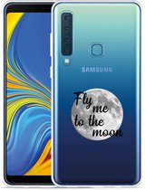 Galaxy A9 2018 Hoesje Fly me to the Moon