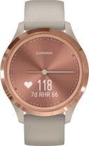 Garmin Vivomove 3S - hybride smartwatch - 39 mm - Rozegoud/zandkleurig