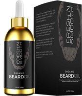 Fresh 'N Smooth Baardolie - Beard  Oil - Baardverzorging Baardgroei Olie - voor Lange & korte Baard
