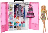 Barbie Fashionistas Ultieme kledingkast en pop - Barbiepop