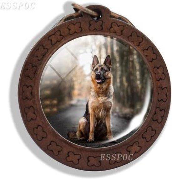 Duitse herder sleutelhanger - hond - dier - geschenk