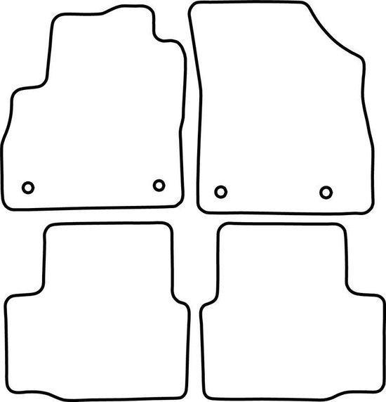 AutoStyle Automatten Opel Astra K 2015-