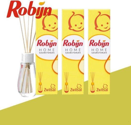 3-pack Robijn Home Geurstokjes Zwitsal